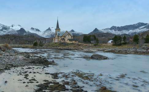 Lofoten Cathedral © Jan Lambert