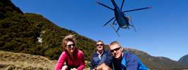 Fly/walk/jetboat in Mt Aspiring