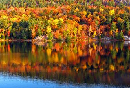 Indian summer in Quebec