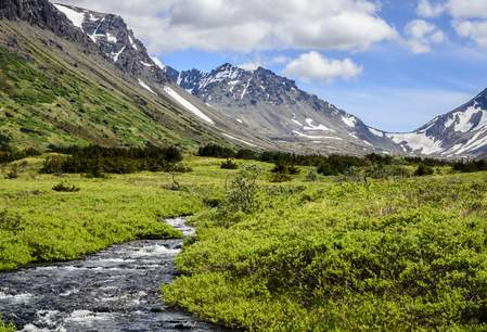 South Fork - Campbell Creek - Chugach Mountains - Anchorage