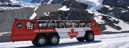 Glacier Skywalk & Ice Explorer Athabasca Glacier