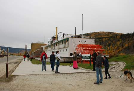 S.S. Keno National Historic Site, Dawson City