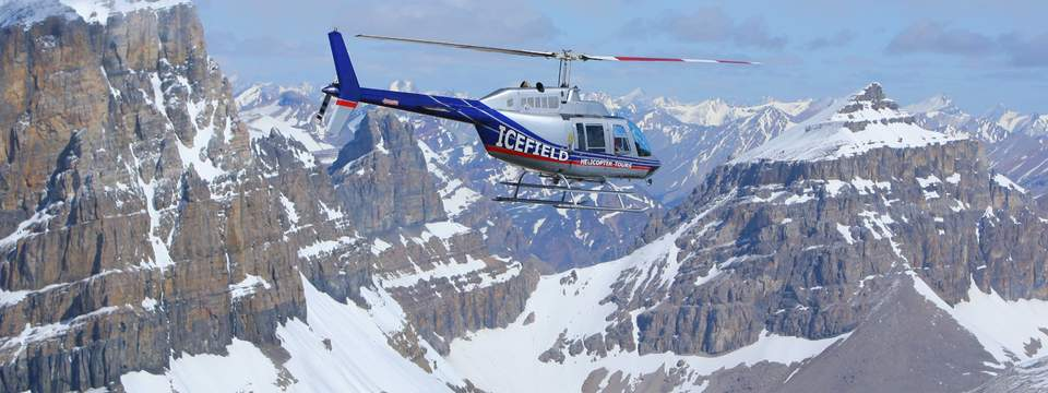 Icefield And Kananaskis Helicopter Tours