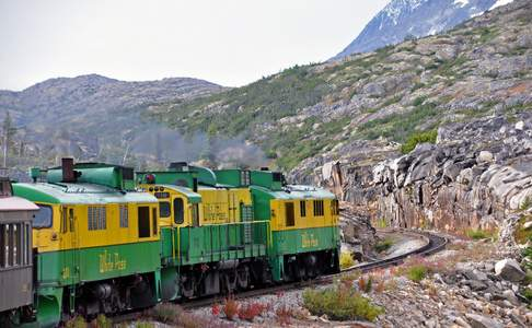 White Pass & Yukon Rail Route