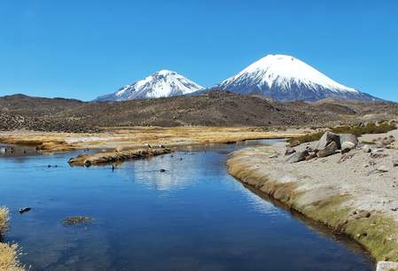 Lauca National Park, Chili