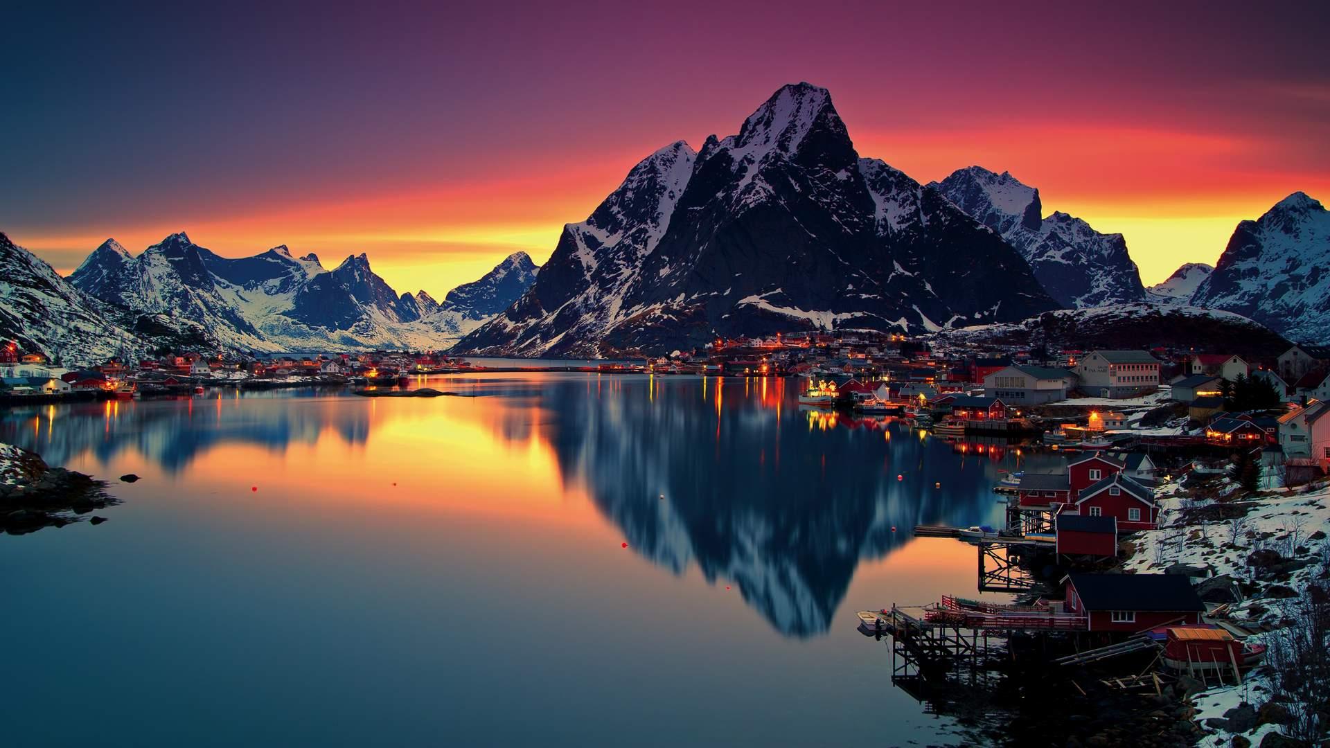 Afbeeldingsresultaat voor noorderlicht noorwegen