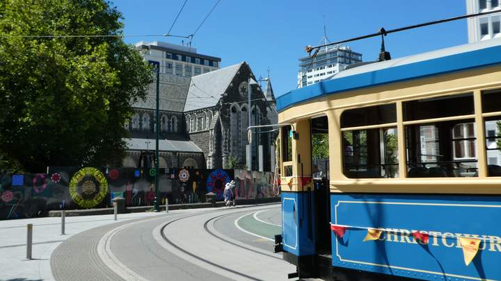 Centrum van Christchurch