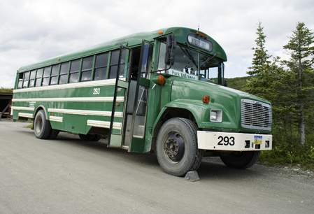 Shuttlebus in Denali National Park