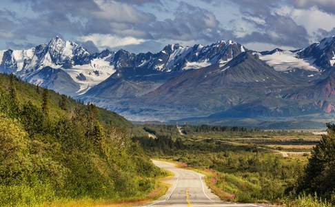 Glenn Highway, Matanuska Valley