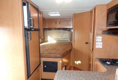 interieur 19ft camper - GoNorth